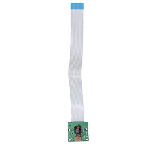 Toygogo Módulo de Cámara 5MP 1080P Ov5647 Sensor Tablero de Cámara Web de Video HD con Cable Flexible CSI para Raspberry Pi a/B/B + / 2/3