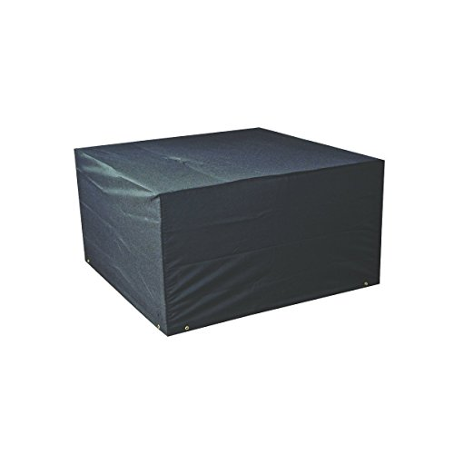 Bosmere Protector 6000 Modular 4 Seat Cube Set Cover, Extra Large - Black, M655