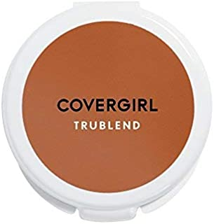 (Translucent Sable 6) - COVERGIRL truBlend Pressed Blendable Powder, Translucent Sable .1150ml (11 g) (Packaging may vary)
