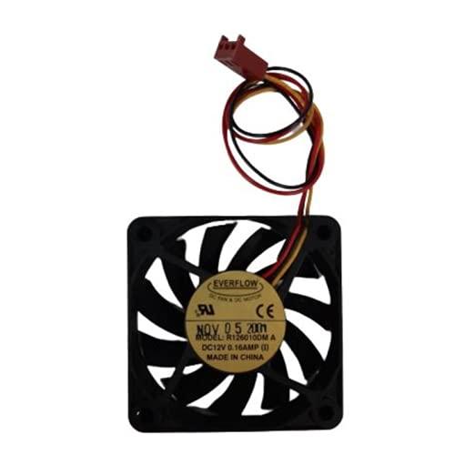 Sin marca Ventilador EVERFLOW 60X10MM 12V 3P R126010DM Usado