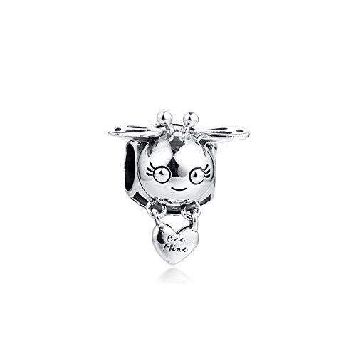 Diy Fits For Original Pandora Bracelets 925 Sterling Silver Fit Pandora Bracelet Animal Beads Bee Mine Charms Women Jewelry Making
