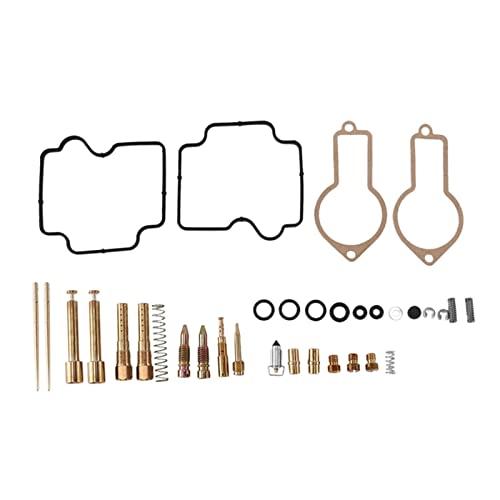 LKANG Carburador/Adecuado for -H/Onda XL600R XL 600R / Kit de reparación y reconstrucción de carbohidratos de carburador de Motocicletas (Color : Black Gold)