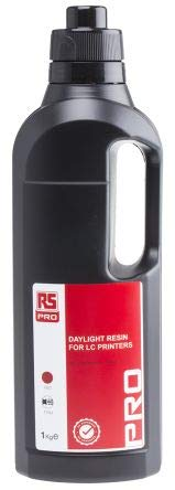RS PRO Red 3D Printer Resin, 1kg