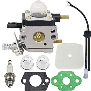 HOOAI C1U-K54A Carburetor Repower Kit for 2-Cycle Mantis 7222 7222E 7222M 7225 7230 7234 7240 7920 7924 Tiller/Cultivator