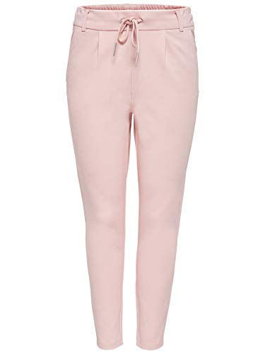 ONLY Damen Hose Einfarbige XL32Rose Smoke