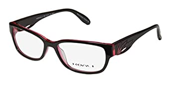 Koali 7199k Womens/Ladies Optical In Style Designer Full-rim Eyeglasses/Eyewear  53-15-135 Brown / Transparent Rose
