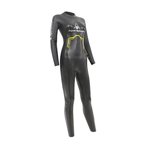 Aqua Sphere Neopren Anzug Pursuit Damen schwarz/gelb XL