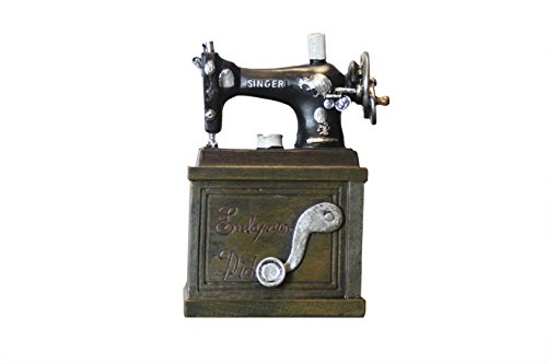 Oh! Trendy Vintage Sewing Machine Wine Holder | Decorative Wine Bottle Holder for Kitchen or Home Decor