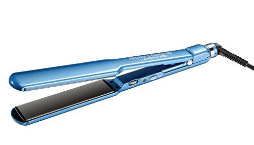 BaBylissPRO Nano-Titanium & Ceramic Ultra-Slim, Extra-Long Flat Iron with 1.5 inch wide floating plates, 1 Count