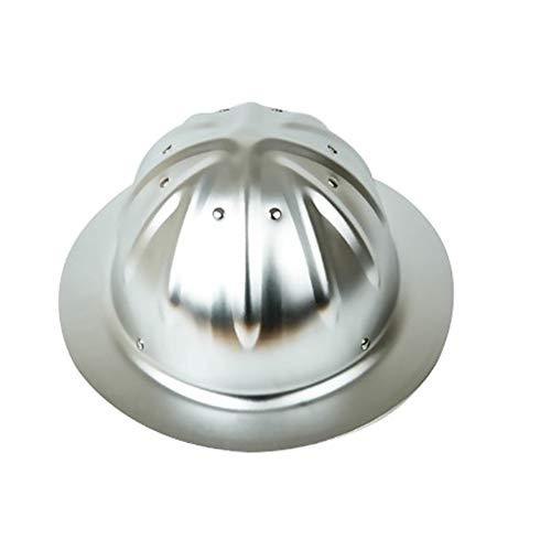 outdoor product Arbeitsschutzhelm, Hochfester Helm Aus Aluminiumlegierung, Arbeitsschutzhelm Auf Baustelle, Für Schmelzen/Bauarbeiter Schutzhelm