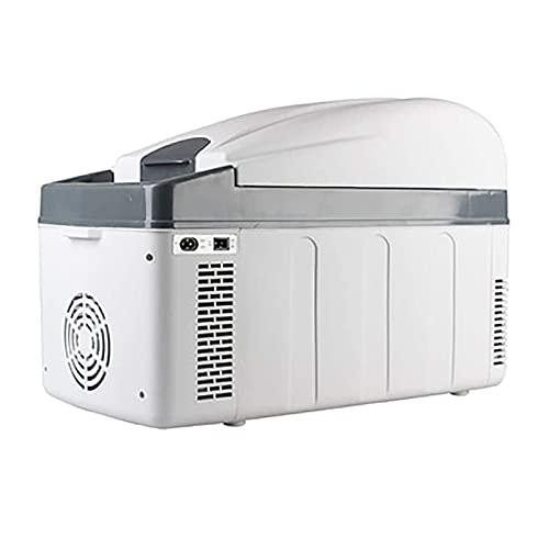 NMSLA 20L Mini Coche Refrigerador Frigorífico Hot Hot Portable Camping Electric Cool Caja Ligero Compacto Cálculo Congelador Picnic al Aire Libre Viajes para Camiones RV Viajes al Aire Libre
