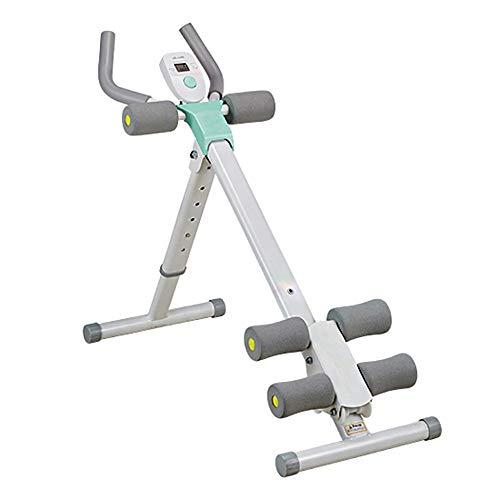 Home Gym Gewichtheben Bank, Bauch-Übung Ausrüstung Kern und Ab Rocket Übung Stuhl mit Foam Roller for Körper Muskeltraining (Color : Green, Size : 37x78x98cm)