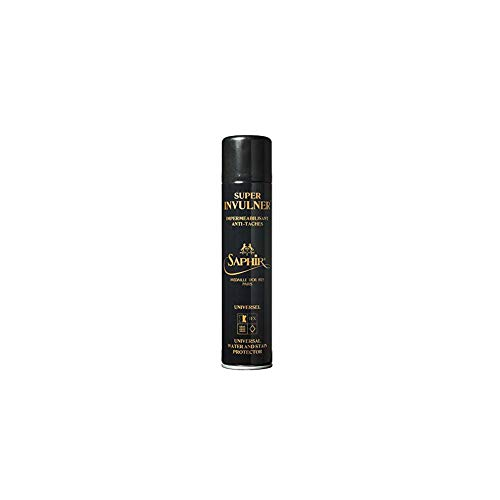 Saphir Medaille d'Or Super Invulner – Waterproof Spray for All Leather Shoes & Boots, Shoe Protector Spray – Neutral