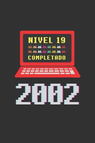 NIVEL 19 COMPLETADO 2002: REGALO DE CUMPLEAÑOS ORIGINAL Y DIVERTIDO. DIARIO, CUADERNO...