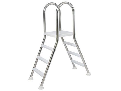 Escalera Puente de acero inoxidable para piscina elevada Flexinox - 87140042 - 4 X 4
