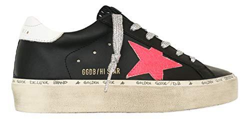 Golden Goose Scarpe Donna Sneaker Hi Star Vintage GWF00118.F000169.90166 Nero (Numeric_37)