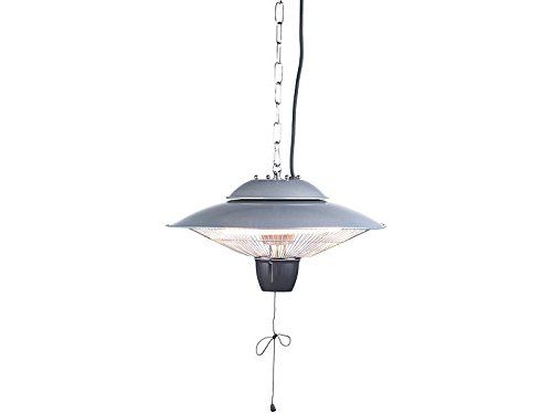 Semptec Urban Survival Technology Infrarotlampe Decke: Infrarot-Decken-Heizstrahler, 1.500 Watt, spritzwassergeschützt (IPX4) (Heizpilz)