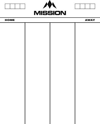 Mission Marker Board Scoreboard - Heavy Duty Acryl - Droogdoekje