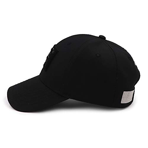 QOHNK Tactical Style Shooting Sports Baseball Cap Fishing Caps Men Outdoor Hunting Jungle Hat Airsoft Hiking Casquette Hats Black