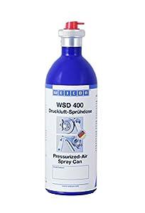 Weicon 15811400 Spray, 400 ml, Lata de Aluminio de Aire Comprimido Recargable, Incoloro