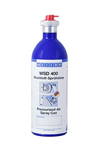 WEICON Druckluft-Sprühdose 400 ml nachfüllbare Druckluft-Aluminiumdose