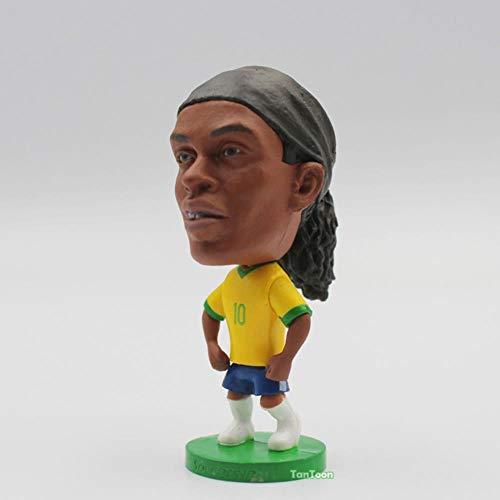 AGS Puppen C. Ronaldo Neymar Robben Beckham 6.5cm 2.5inch Figur, Ronaldinho