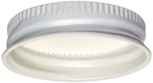 White Metal Growler Caps 38mm Fits Most 1/2 and 1 Gallon Jugs (12)