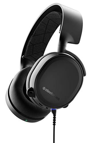 SteelSeries Arctis 3 Bluetooth - Casque de Jeu Filaire et sans Fil - pour Nintendo Switch, PC, PlayStation 4, Xbox One, RV, Android et iOS - Noir