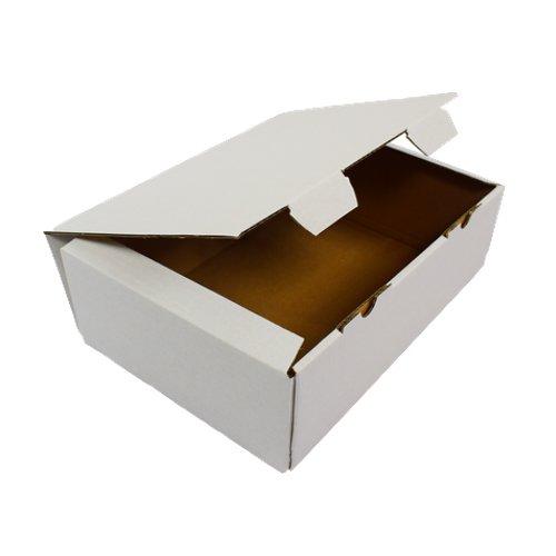 20 Versandkartons VK 350x250x120mm Faltkartons Geschenkkarton Maxibrief kartons Postkartons Mail Box Weiss
