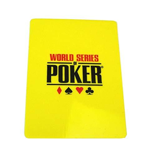 Unbekannt WSOP Cut Card gelb Poker 63x88 mm Kunststoff