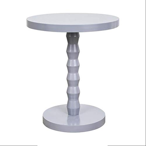 H-ei Round Table Coffee Table Sofa Side Table Art Table Simple Modern Living Room Bedside Table (Color : B)
