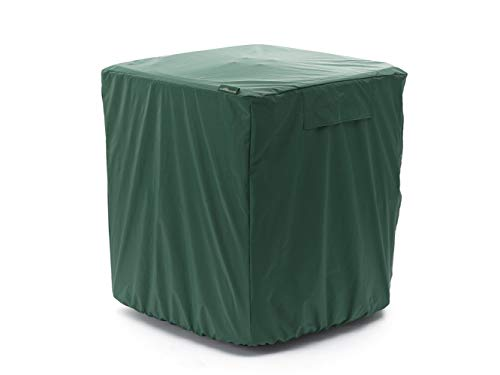 Covermates - Air Conditioner Cover – AC Cover for Outdoor Protection - Water Resistant and Weatherproof - Green