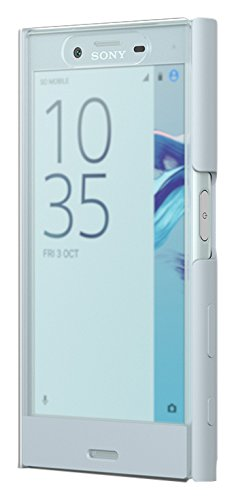 Sony L'Style Cover Touch SCTF20 - Funda con tapa táctil para móvil Xperia X Compact, color Azul