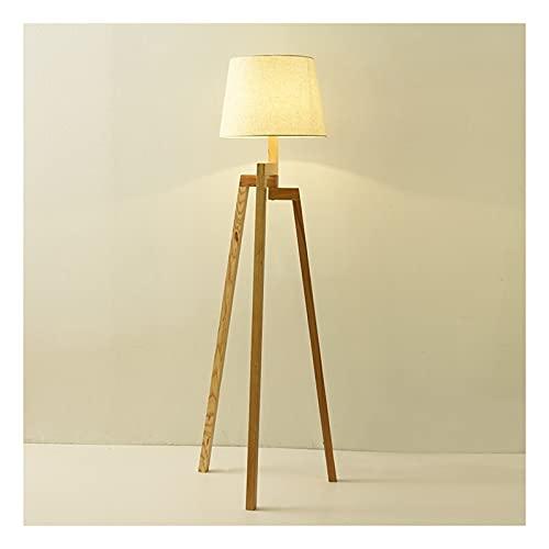 Indoor Statief Vloerlamp Mid Century Modern Standing Light voor hedendaagse woonkamers – Tall Lamp met houten poten…