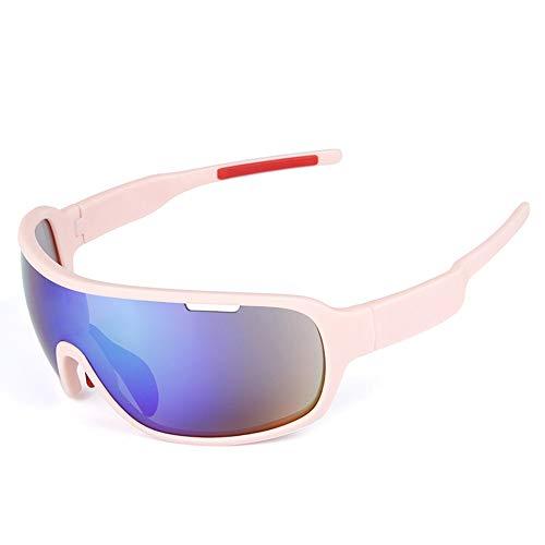 WOXING Hombre Mujer Gafas De Sol,Ligeras Protección UV Antideslumbrantes Vintage Gafas,Moda Viajes Conducir Gafas,Ciclismo Deportivas Polarizadas Aire Libre Deportes Gafas-I 15x4.7cm(6x2inch)