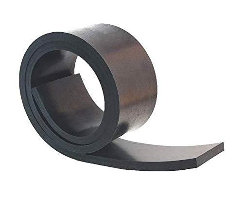 1000mm x 80mm x 8mm Gummistreifen Gummi-Matte-Platte Vollgummi Schürfleiste Hartgummi