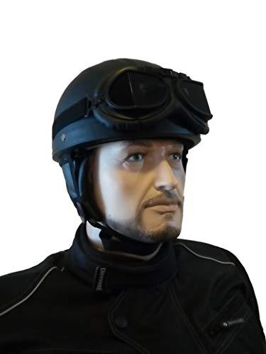 casco de aviador antiguo