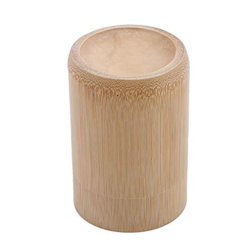 #N/A Zoomne Creative Bamboo Toothpick Holder Box - Soporte para palillos de dientes, organizador de almacenamiento