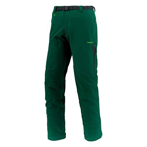 Trangoworld pc007176 – 4t1-xlc Pantalon Long, Homme, Vert Chasse/Noir, XL