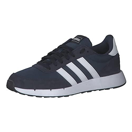 adidas Run 60S 2.0, Road Running Shoe Hombre, Crew Navy/Cloud White/Legend Ink, 43 1/3 EU