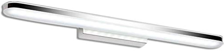 Laogg LED Spiegelleuchte Bad Spiegellampe 12 Watt 60cm anti-fogging feuchtigkeitsfest acryl make-up tisch toilette badezimmer spiegel frontleuchte wandleuchte