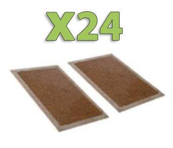 Plaques de glu en bois anti souris anti rat lot de 24x2 (soit 48 pièces)