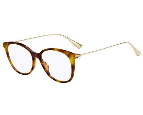 Christian Dior Brille (DiorSightO1 086) Acetate Kunststoff - Metall havana - gold