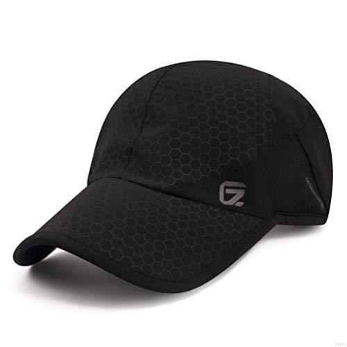 Sport cap,Soft Brim Lightweight Waterproof Running Hat...