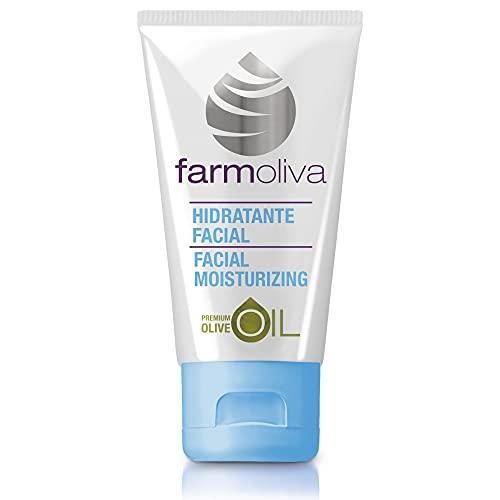 Farmoliva Belleza - Crema Hidratante Facial - 50 ml - Hidratación Profunda - Elaborada con Aceite de Oliva Premium - Con Antioxidantes y Vitaminas A, E y K - Cosmética Natural - Fabricada en España