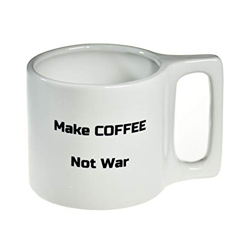 Funny Coffee Mugs with Sarcastic and Inspirational Sayings, Ceramic, 12 oz - Unique Tea and Coffee Cup with Large Handle - Humorous, Novelty Drinkware and Gifts for Women, Men, Coworkers
