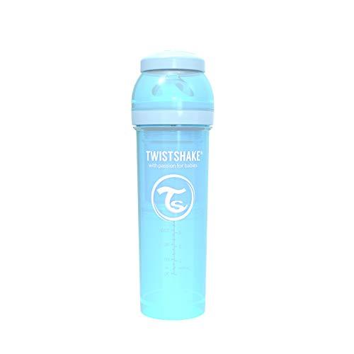 Twistshake 78262 - Biberón, color pastel azul