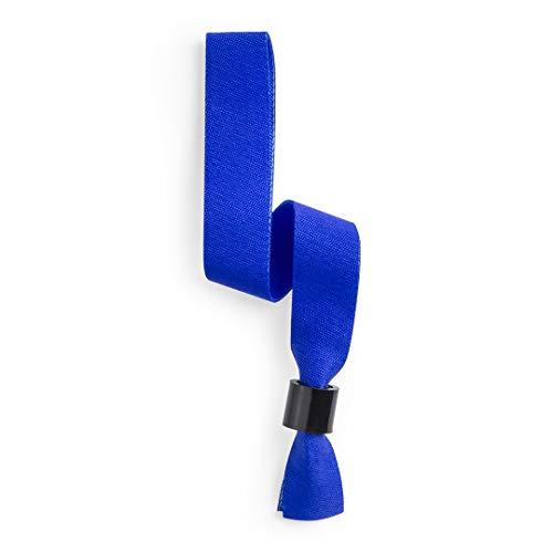 Pack de Pulseras PLASKER Ajustable con Cierre DE Seguridad (Lote 100 UNDS)- PULSERAS PARA DISCOTECA- COTILLONES-EVENTOS DEPORTIVOS-identificador-pulsera identificativa-