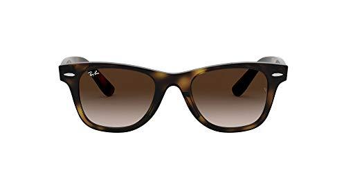 Ray-Ban Junior Unisex-Child RJ9066S Sunglasses, Havana/Brown Gradient, 47 mm