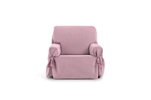 Eysa Calma Funda de sofá, Algodón, Rosa (Pink), 1 Plaza